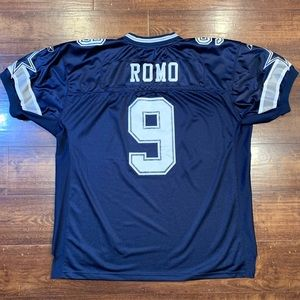 Reebok Tony Romo #9 On-Field Authentic NFL Jersey